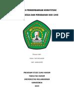 Sejarah perkembangan konstitusi di Indonesia