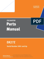 Doosan DX027Z Parts Manual