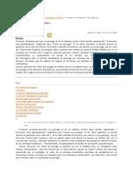 paysage et catégories topologiques de Cordier et Rothko