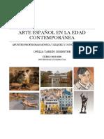 Arte español de la edad Contemporanea