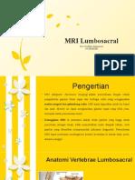 PPT MRI Lumbosacral
