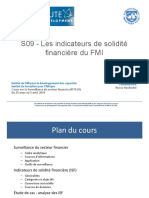 S09 - (FRE) Les indicateurs de solidite financiere du FMI (1)