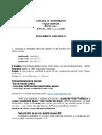 Regulament Concurs 2020