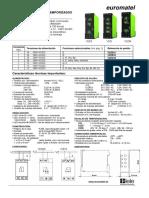 Relés electrónicos temporizados serie VEO manual español