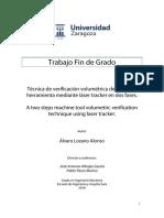 Técnica de Verificación Volumétrica de Máquina Herramienta Mediante Láser Tracker en Dos Fases