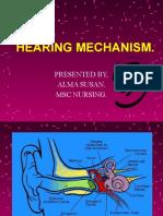 HEARING MECHANISM