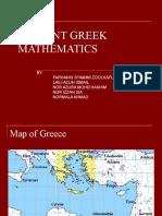 Ancient Greek Mathematics