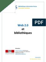 Web 2.0 et bibliothèques