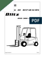 Cesab BLITZ250, 300, l y 350(Castellano 5-2011)