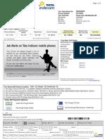 Data Card Bill Nov