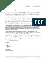 NARFE Letter RMD Coronavirus Suspension