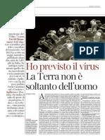 Corriere della Sera La Lettura N434 - 22 marzo 2020