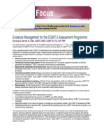 Evidence Management for the COBIT 5 Assessment Programme