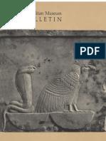 Metmuseum-Egyptian Art the Metropolitan Museum of Art Bulletin v 22 No 7 March 1964