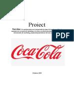 Analiza Mixului de Marketing Coca Cola
