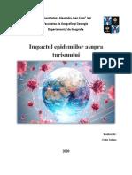 Cretu Sabina GT 21 - Impactul epidemiilor asupra turismului.pdf