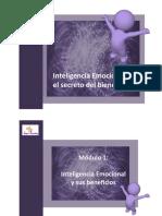 pdf inteligencia emocional, el secreto bienestar. Material m