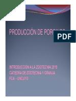 PRODUCCIÓN DE PORCINOS IZ 2019