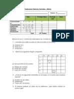 Evaluación 2°básico historia Marzo 2014