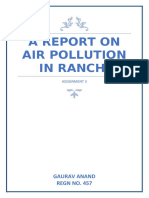 A Report on pollution in ranchi.docx