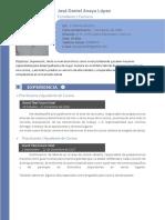 Curriculum José Anaya 20181121