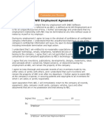 At-Will-Employment-Agreement