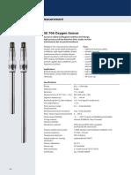Catalog Excerpt-SE 706 Oxygen Sensor-en-Knick