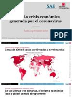La Crisis Económica Generada por el Coronavirus