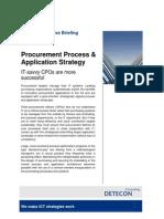 Procurement Process & Application Strategy