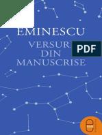 Mihai Eminescu - Versuri din manuscrise.pdf
