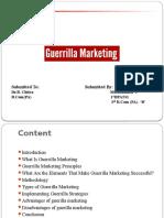 Seminar on Guerrilla Marketing  ppt.pptx