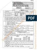 GCE A/L 2015 Accounting I & II (English) - Past Paper
