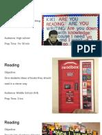bulletin board presentation