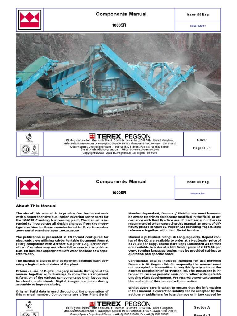 1000SR-l Manual color.pdf.pdf | Manufactured Goods | Technology