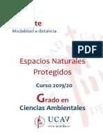 APUNTES DE ESPACIOS NATURALES PROTE