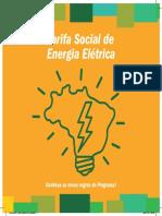 Cartilha Tarifa Social