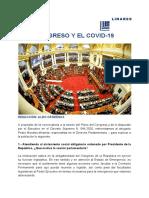 CONGRESO Y EL COVID-19 - ALDO CÁRDENAS
