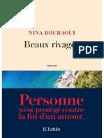 Beaux rivages Bouraoui Nina