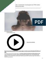 2020_MAR. Médicos e deputados contestam resolução do CFM sobre terapias para mudança de sexo