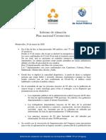 Informe de Situación Sobre Coronavirus COVID-19 en Uruguay (24 03 2020)