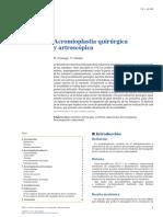 Acromioplastia quirúrgica