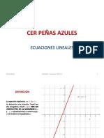 Ecuaciones Lineales Conceptos y Aplicaciones