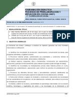 607_programaciones  procesos preelaboracion
