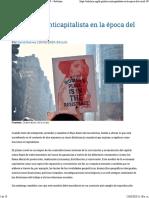 La política anticapitalista en la época del COVID-19