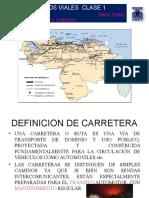Proyectos Viales introducción Prof. Doris Fuentes