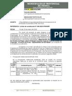 INFORME DISPONIBILIDAD PPTAL MPP INVERSIONES NO PREVISTAS