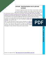 DG. La phrase nominale. Nominalisation de la phrase verbale.pdf