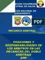 TECNICA-MECANICA  ARBITRAL AMF.