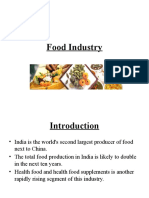 Food Industry Ppt