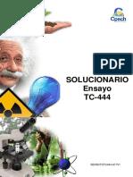 Solucionario Ensayo TC-444